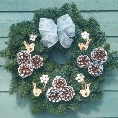 Nordic Christmas Wreath
