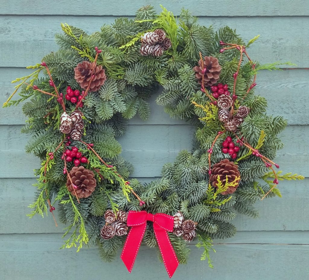 12 Inch Christmas Wreath