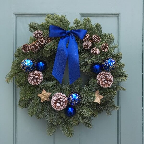Silent Night Christmas Wreath