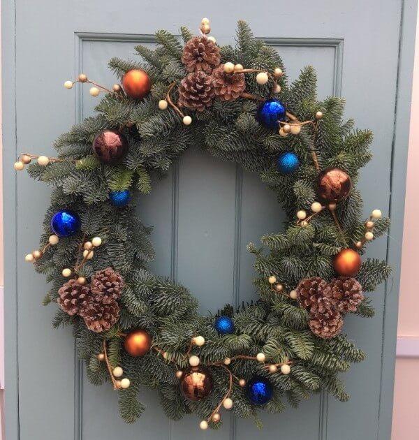 Stylish Christmas Wreath