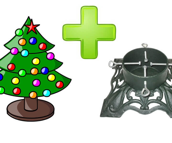 Christmas Tree & Stand Deal