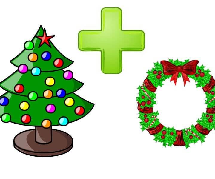 Christmas Tree & Wreath Deal