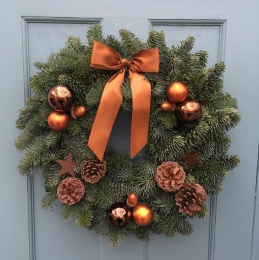 Winter Glow Christmas Wreath