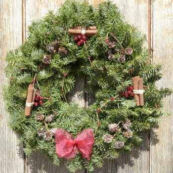 Goddenwick Christmas Wreath Fresh Wreaths from #2: Woodland Wreath 12inch 1 350x350