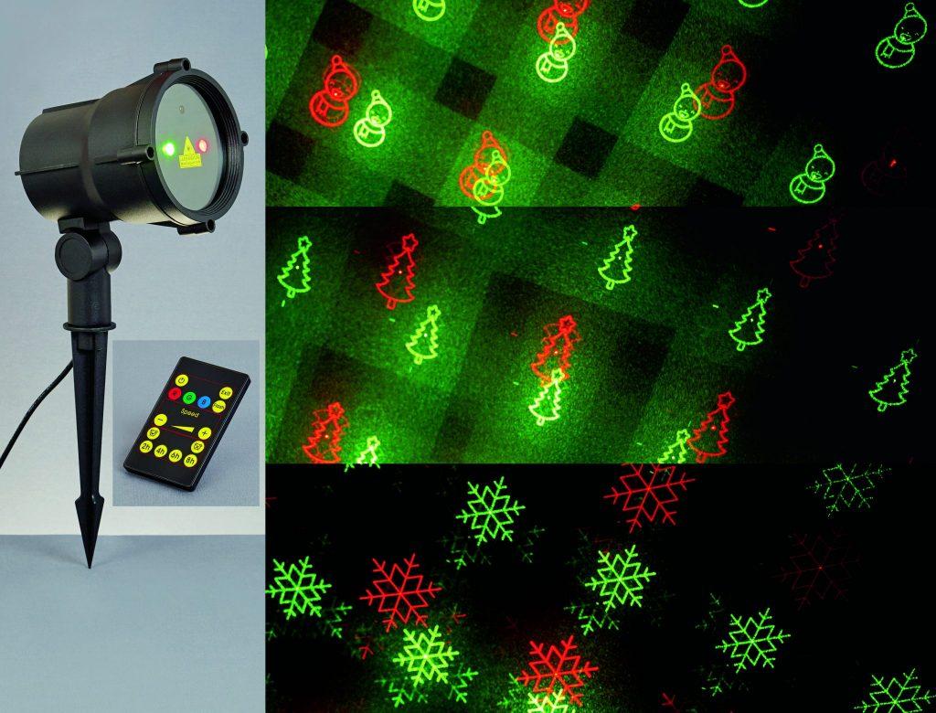 Red & Green Laser Light