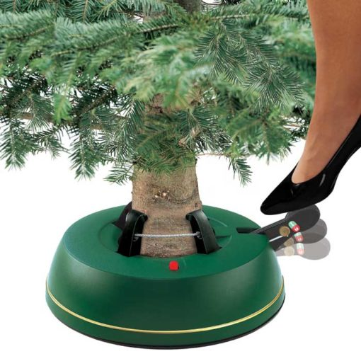 Pedal Christmas Tree Stand